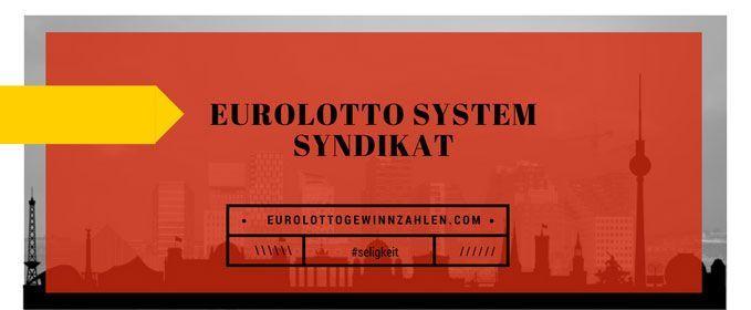 Eurolotto System Syndikat