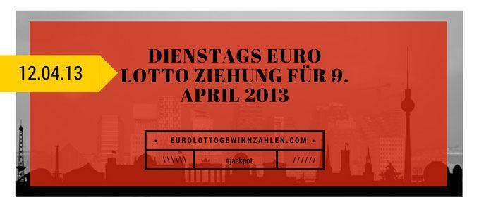 Dienstags Euro Lotto Ziehung
